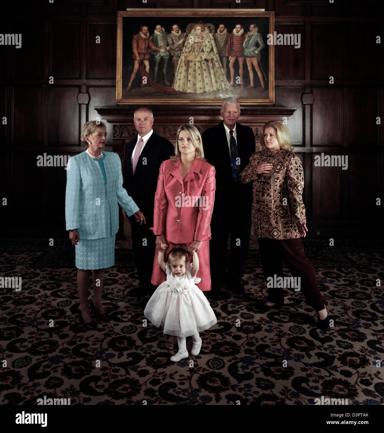 Big Family - Stock Image
