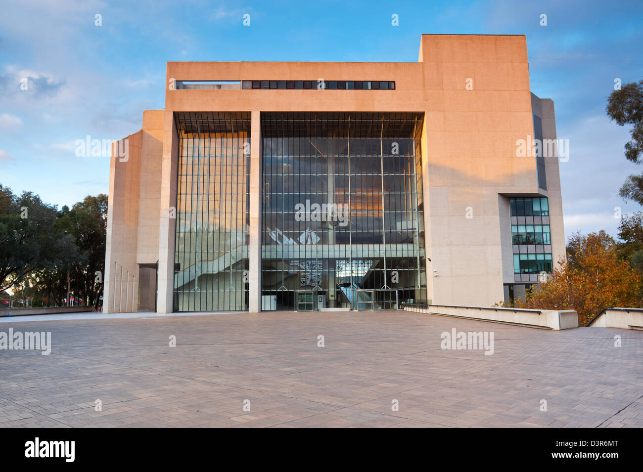 High Court of Australia building. Canberra, Australian Capital Territory (ACT), Australia - Stock Image