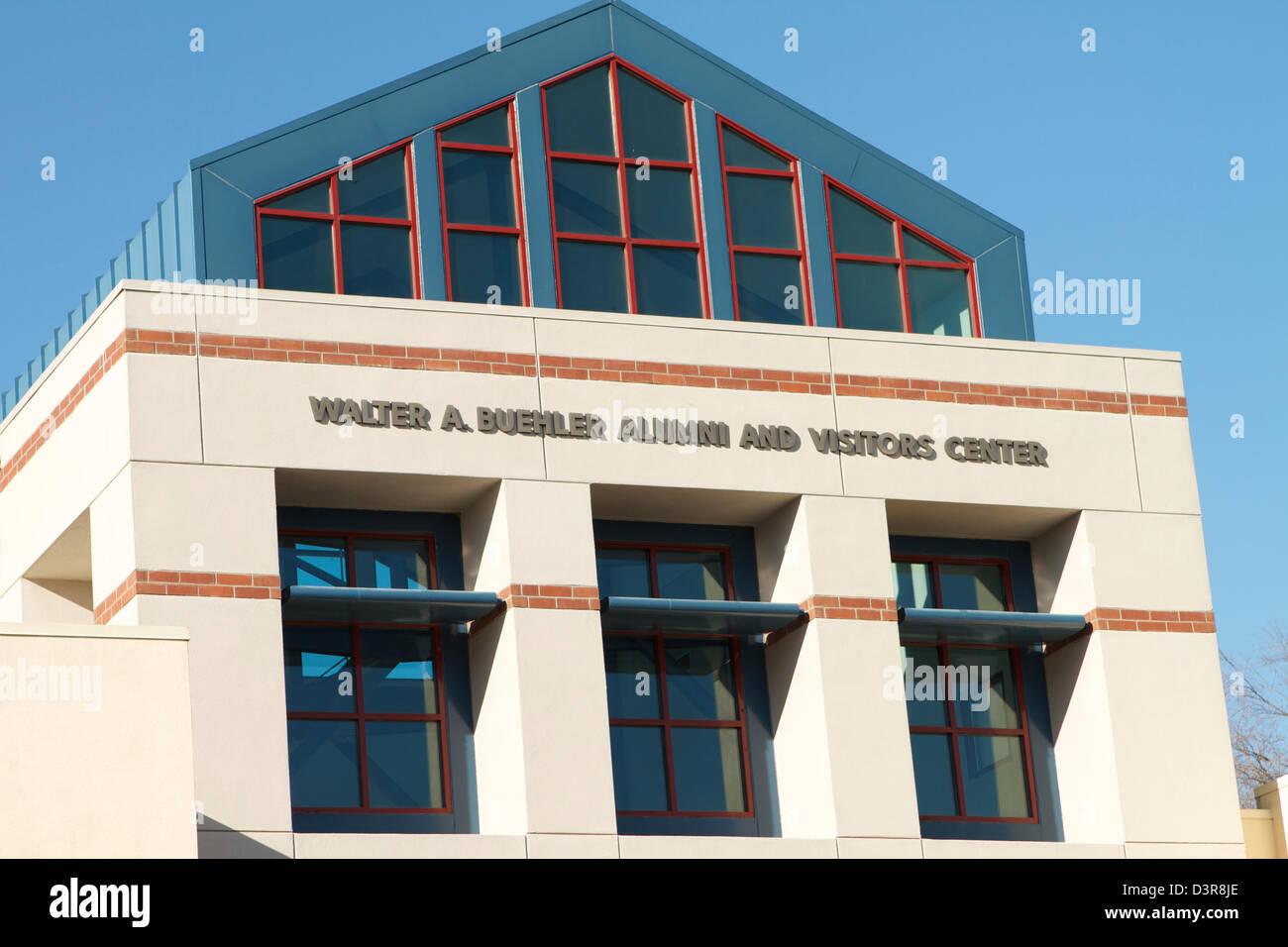 The Walter A Buehler Alumni and Visitors Center at the University of California Davis (UC Davis) Stock Photo
