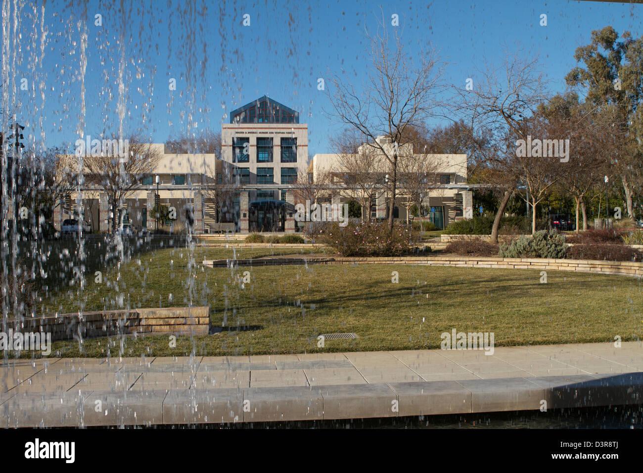 The Walter A Buehler Alumni and Visitors Center at the University of California Davis (UC Davis) - Stock Image