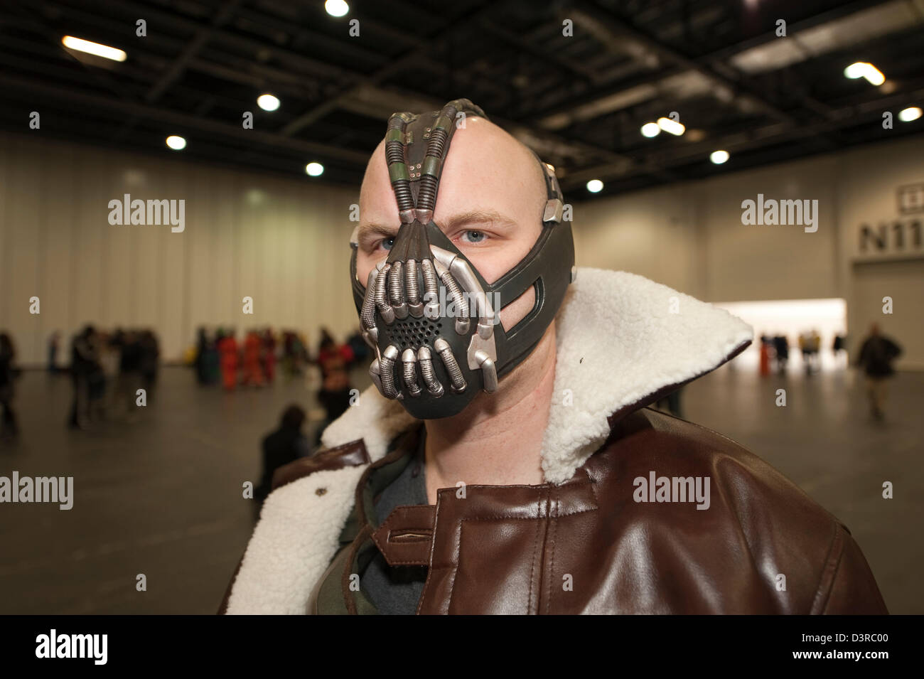 23rd February 2013 London UK. Many visitors to the London Super Comic Convention & Bane Costume Stock Photos u0026 Bane Costume Stock Images - Alamy