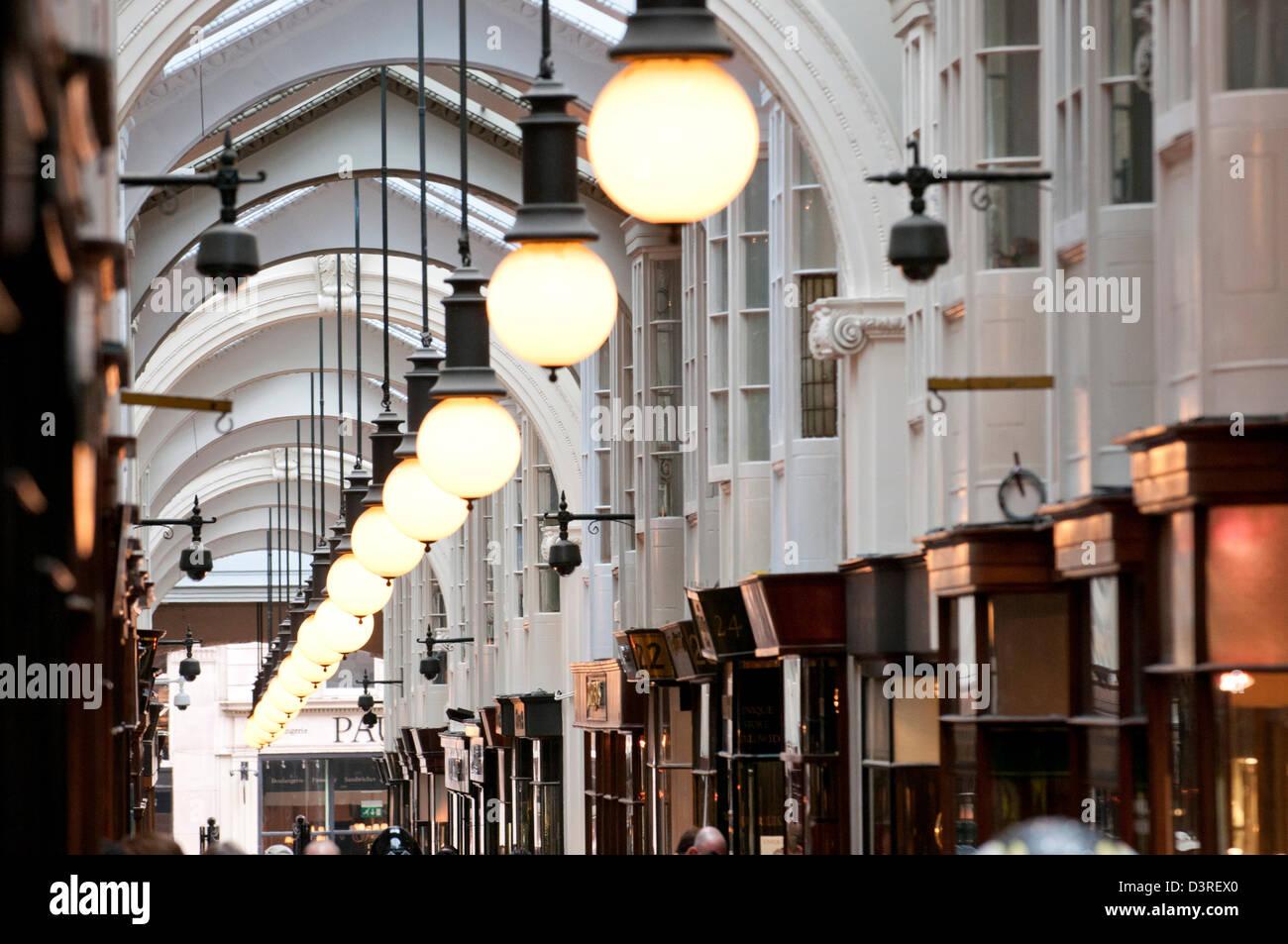 The Burlington Arcade Stock Photo