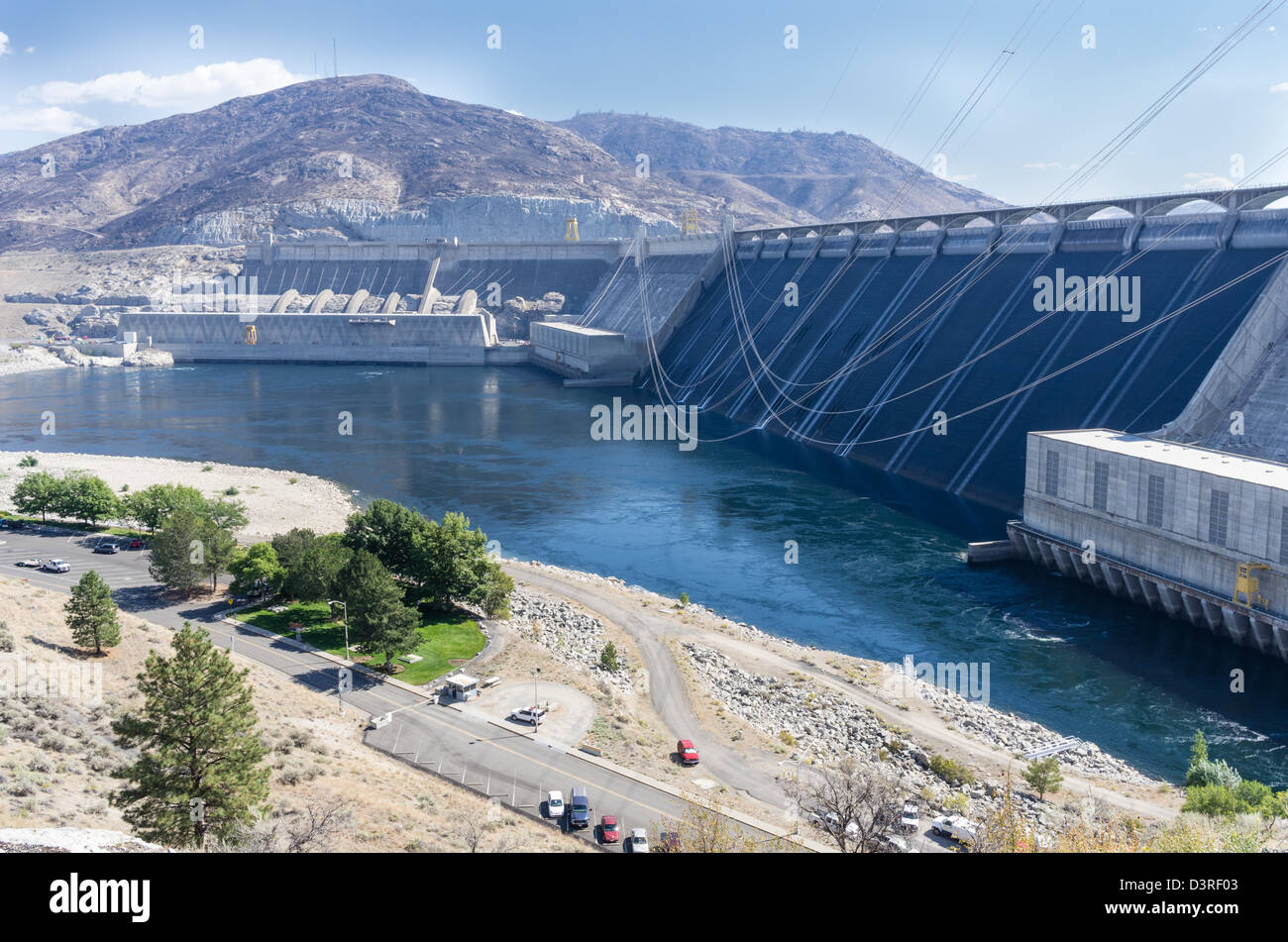 Grand coulee dam stock photos grand coulee dam stock images alamy coulee dam washington united states grand coulee dam is the largest producer of publicscrutiny Gallery