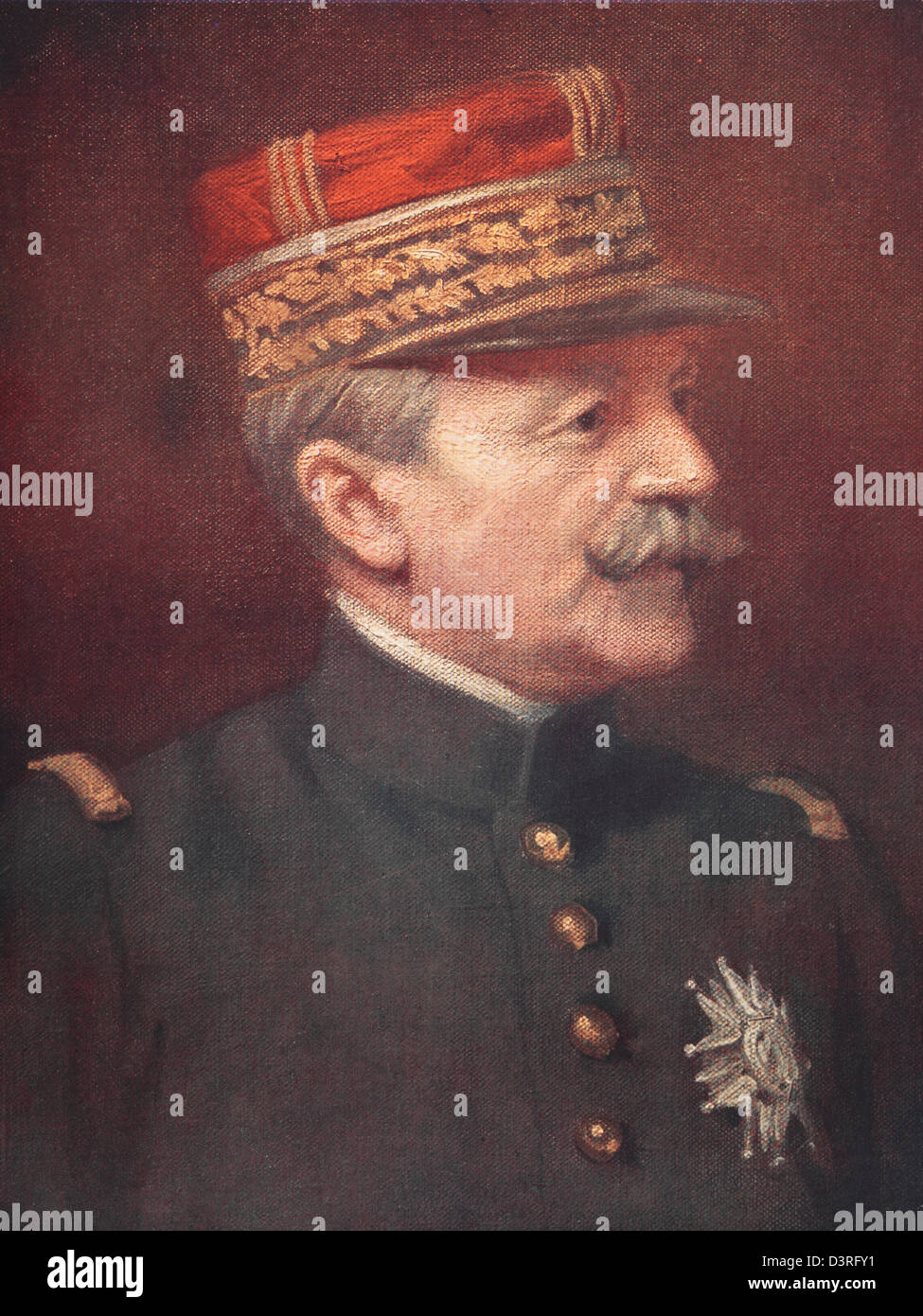 bb263f4d095 Fernand de Langle de Cary - French General in the First World War - Stock  Image
