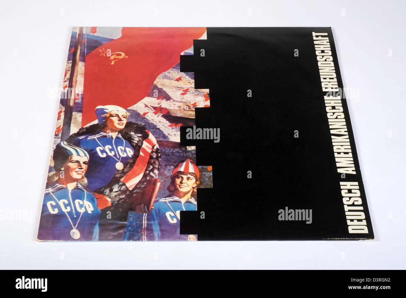 1980 Die Kleinen Und Die Bosen by Deutsch Amerikanische Freundschaft (German American Friendship) or D.A.F. - Stock Image