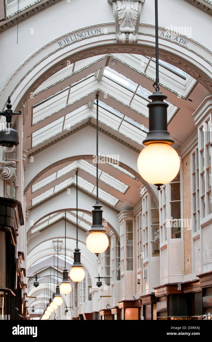 The Burlington Arcade Stock Photo
