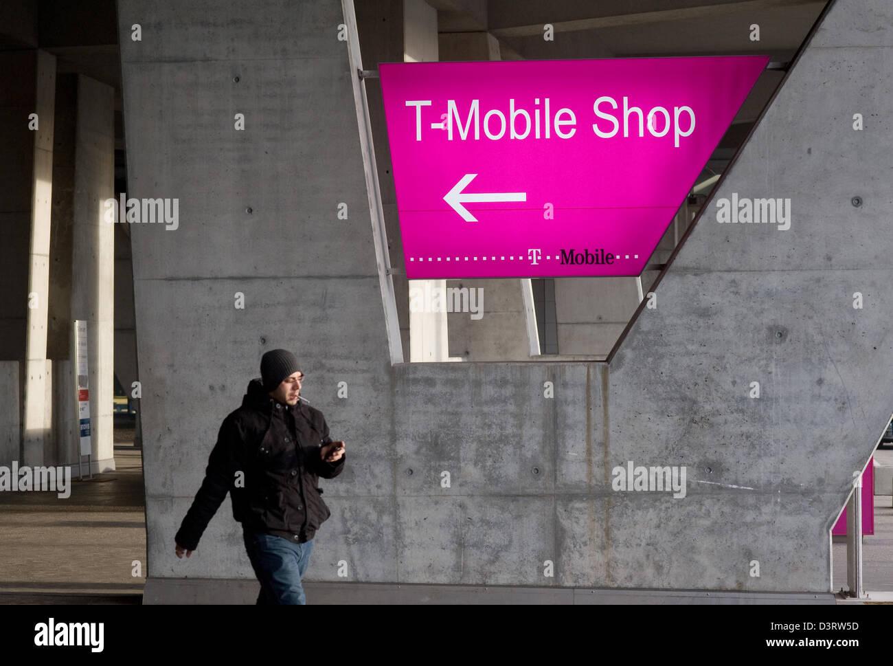 Vienna, Austria, German telecom Value Added Services Austria GmbH in Vienna's Landstrasse - Stock Image