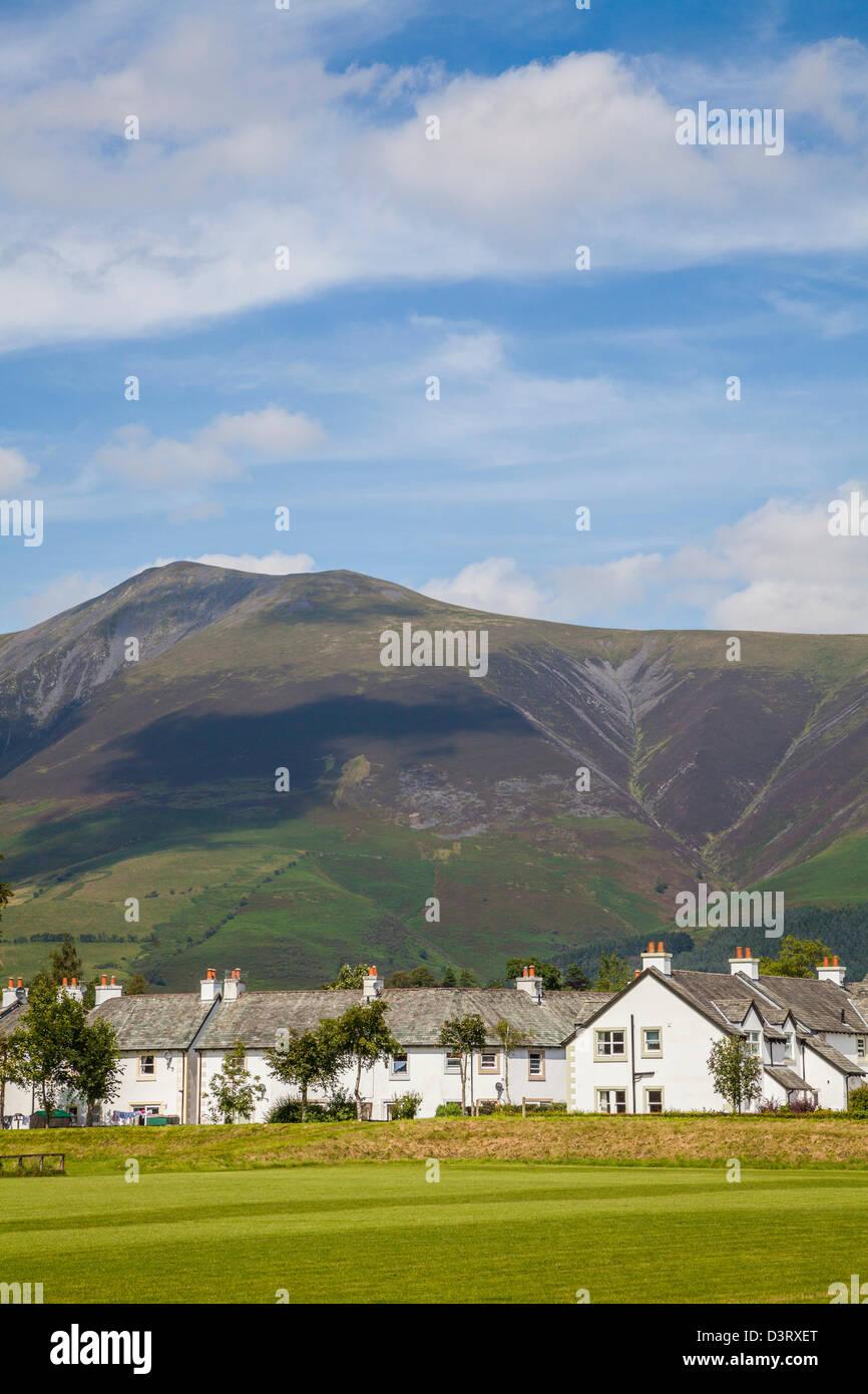 Latrigg from Keswick, Cumbria. - Stock Image