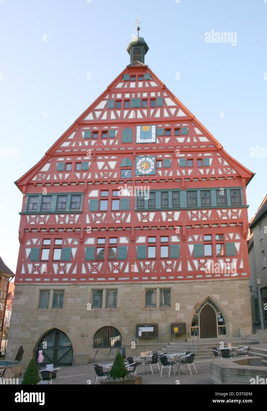 historic City Hall - Stock Image