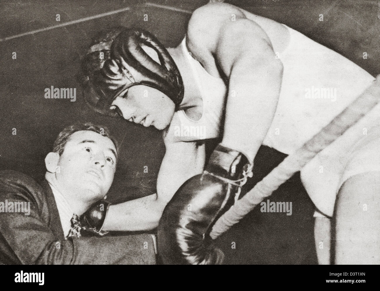 James Braddock, American heavyweight boxing champion, photographed here in 1938 - Stock Image