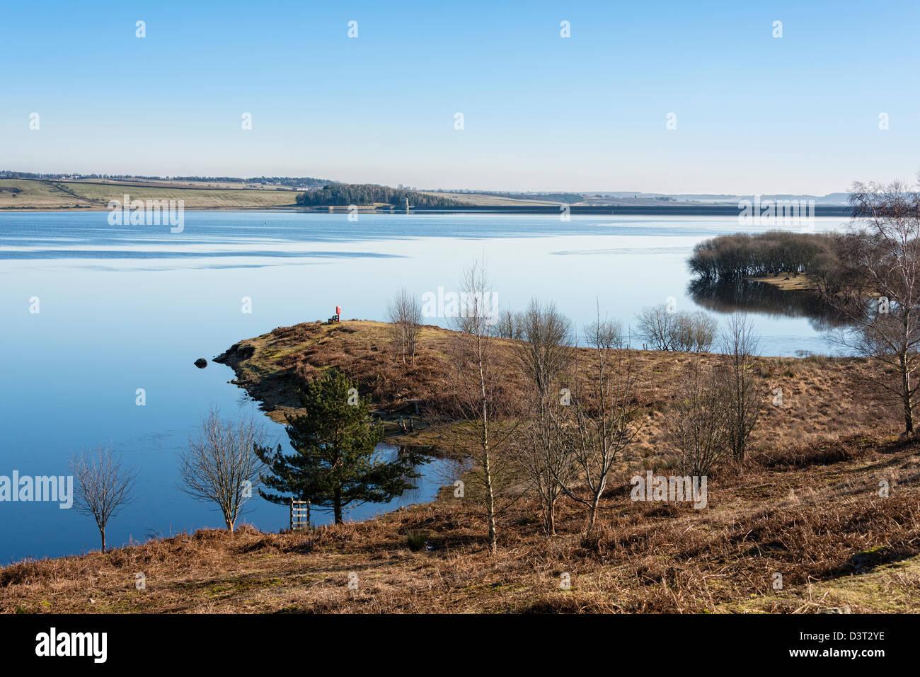 Derwent Reservoir - Stock Image