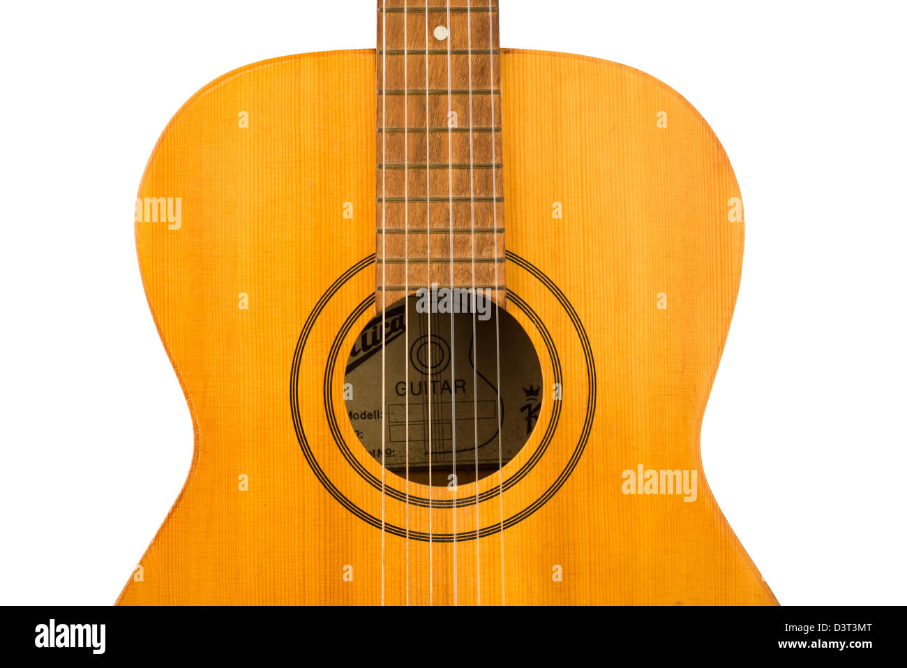 Acoustic Guitar - Stock Image