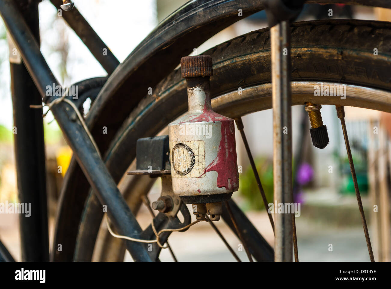 Electric Dynamo Stock Photos Images Alamy Simple Generator Design Generators And Dynamos On Antique Bicycle Image