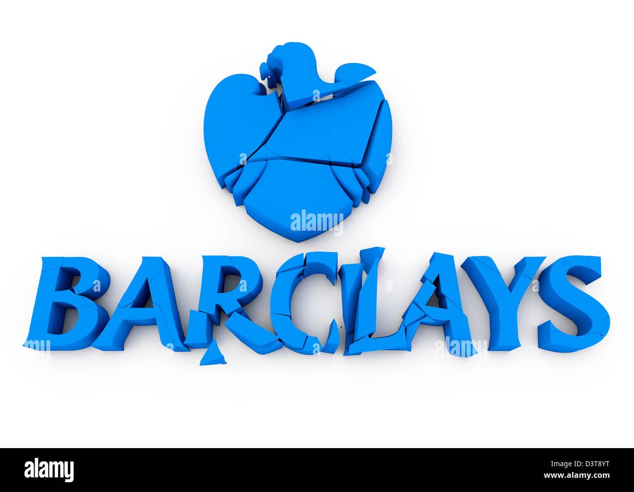 Barclays Bank Logo Stock Photos & Barclays Bank Logo Stock