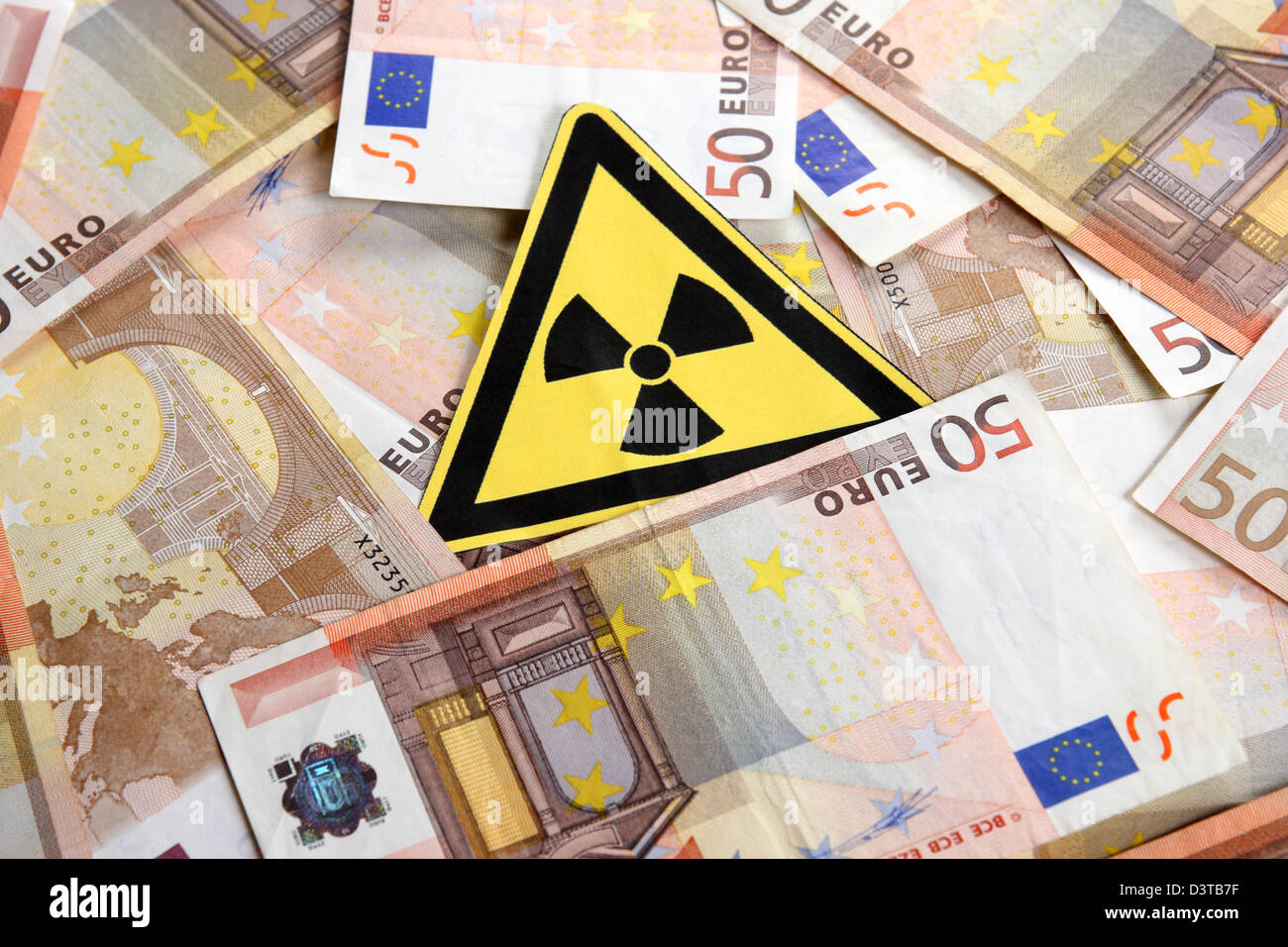 Berlin, Germany, symbol Photo nuclear power costs - Stock Image