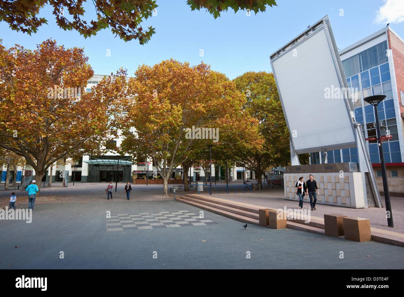 Garema Place. Civic, Canberra, Australian Capital Territory (ACT), Australia - Stock Image