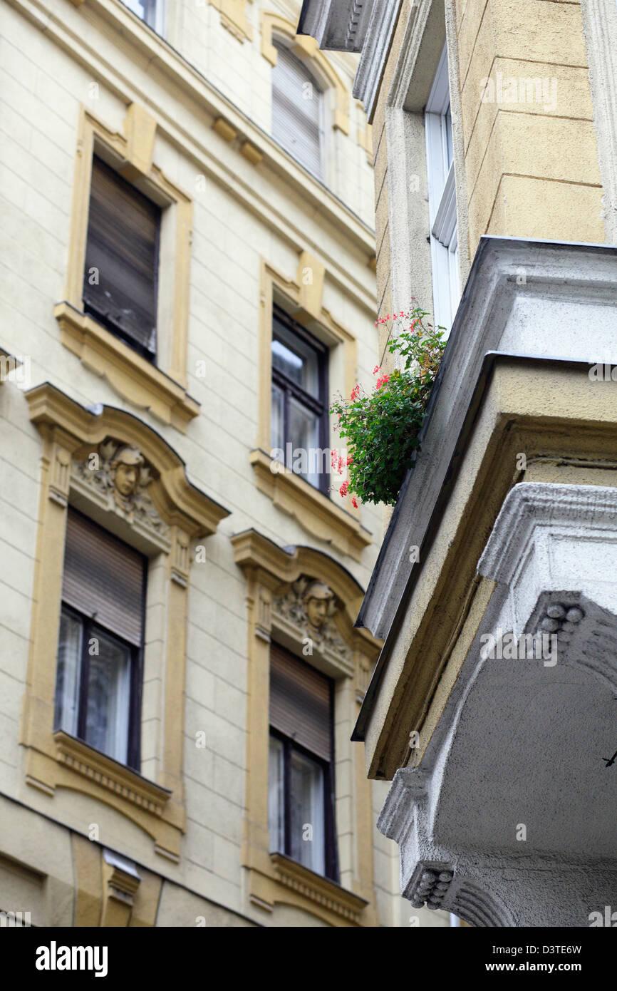 Budapest, Hungary, renovated buildings Stock Photo