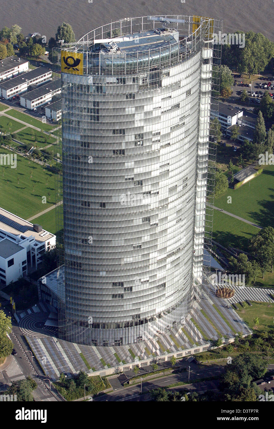 The picture shows the Post tower of the former government district in Bonn, Germany, Saturday 21 October 2006. The - Stock Image