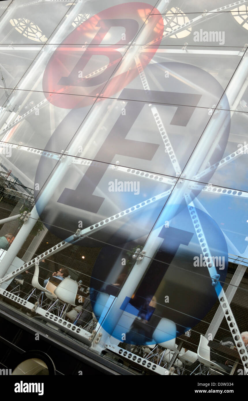 BFI (British Film Institute), South Bank, London, UK - Stock Image