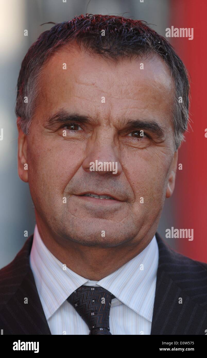 The founder of the consumer electronics chain of Media Markt stores entrepreneur Leopold Stiefel is pictured in - Stock Image
