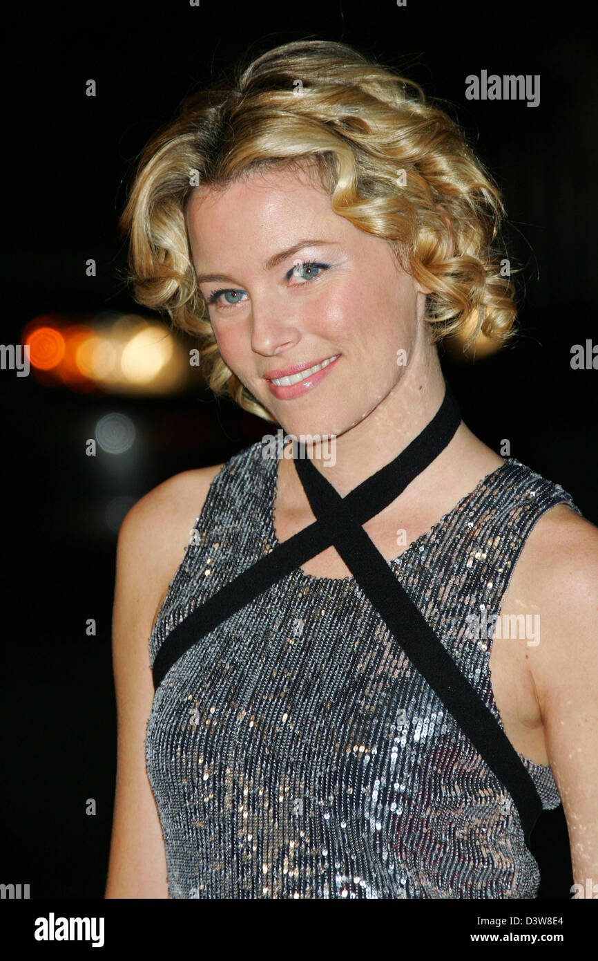 US actress Elizabeth Banks arrives to the premiere of the film 'Smokin' Aces' in Hollywood, CA, United - Stock Image