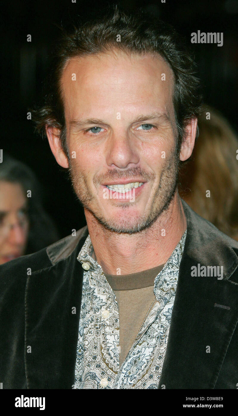 US actor Peter Berg arrives to the premiere of his film 'Smokin' Aces' in Hollywood, CA, United States, Thursday, Stock Photo