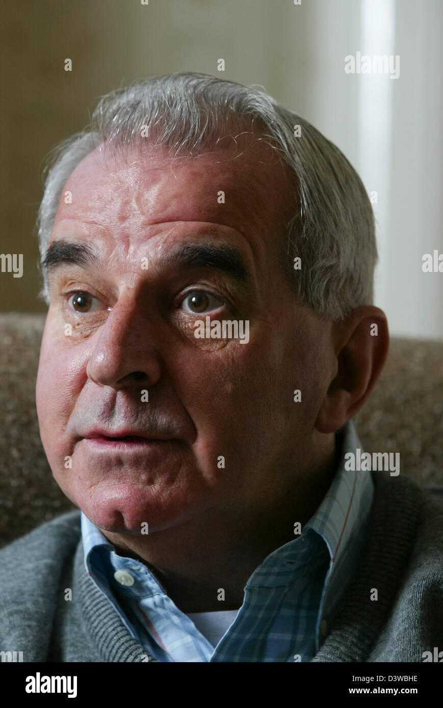 Cardinal Keith O'Brien, Archbishop of St Andrews and Edinburgh, and the most senior Roman Catholic cleric in - Stock Image