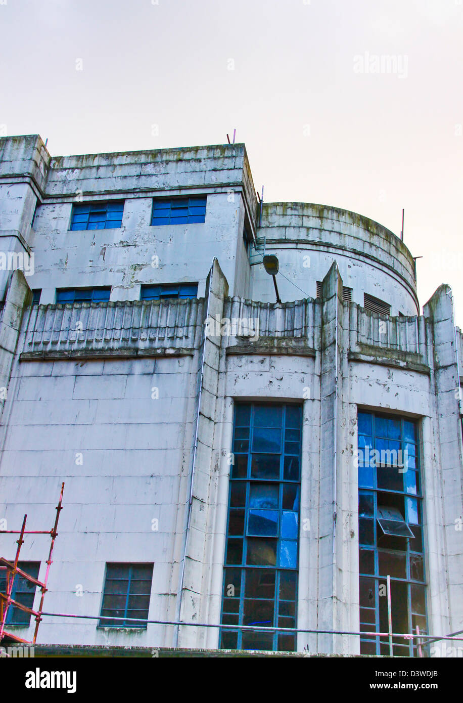 Former Odeon Art Deco cinema Glasgow Renfield Street - Stock Image