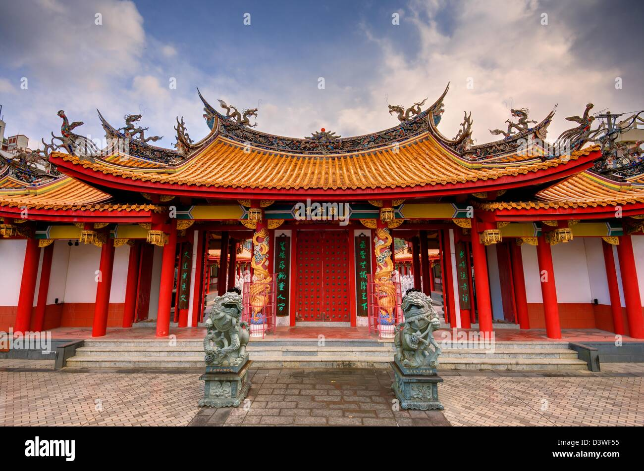 Confucius Shrine in Nagasaki, Japan. - Stock Image