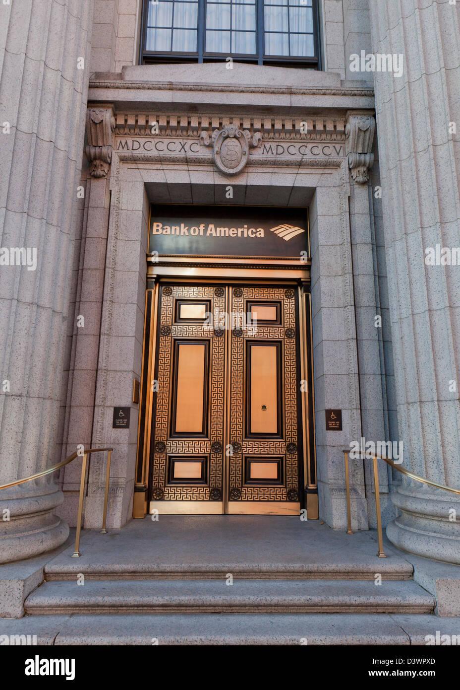 Bank of America building - Washington, DC - Stock Image