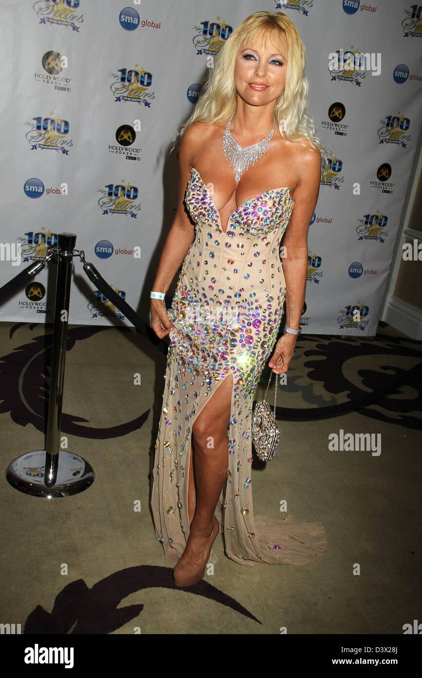 Feb. 23, 2013 - Hollywood, California, U.S. - I15585CHW .23rd Annual Night Of 100 Stars Black Tie Dinner Viewing - Stock Image