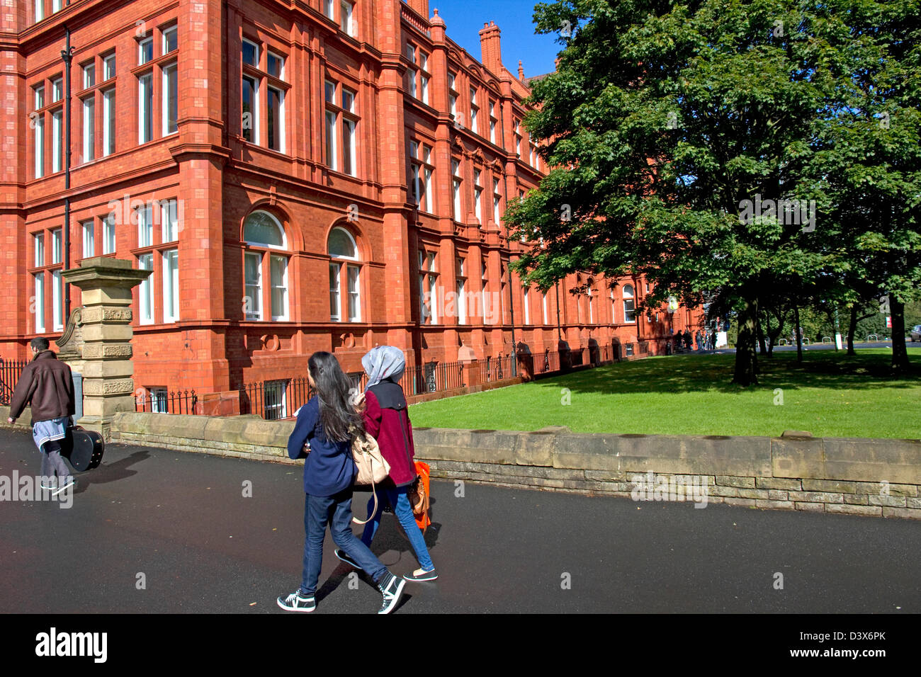 Peel Park Campus (main campus), ( Peel Building), University of Salford, Salford, Greater Manchester, England, UK Stock Photo