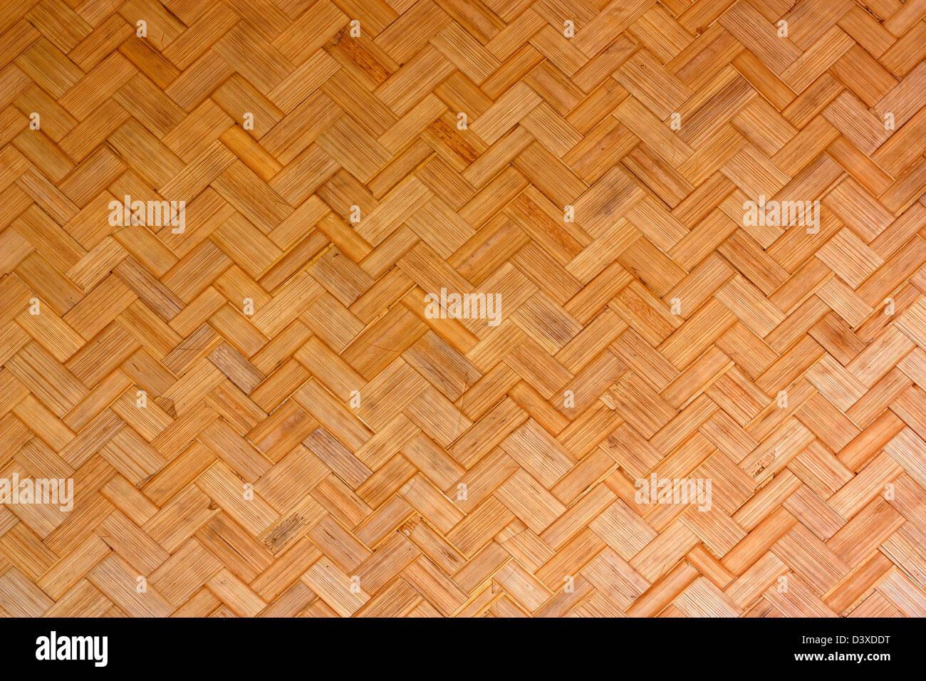 Abstract art bamboo wall, wallpaper natural materials. - Stock Image