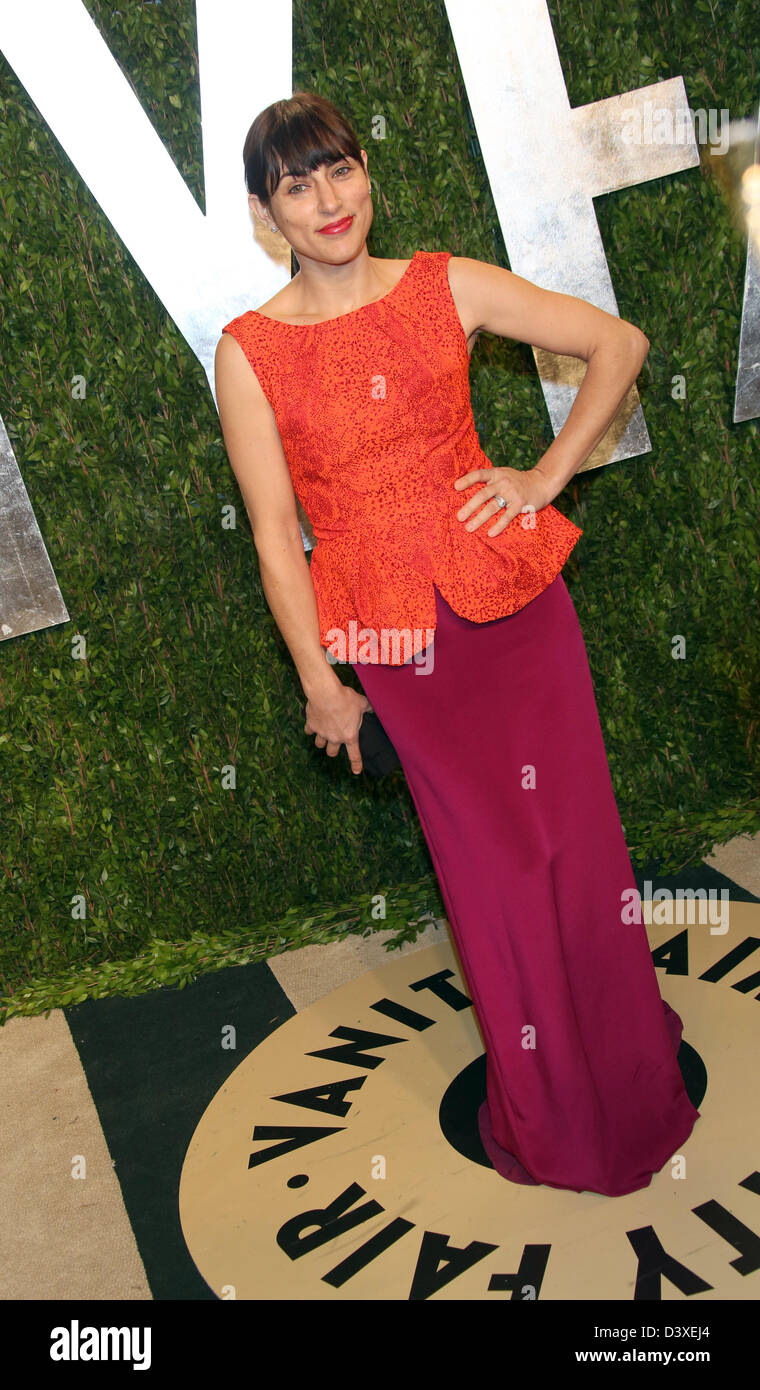 Los Angeles, USA. 24th February 2013. NewsUS actress Summer Phoenix arrives for the Vanity Fair Oscar Party at Sunset - Stock Image