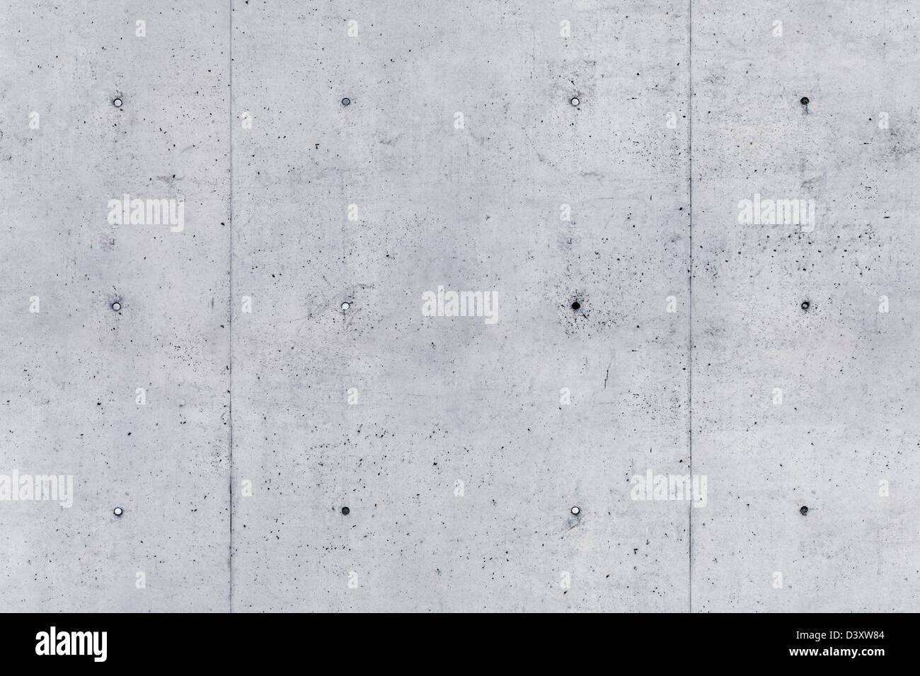 stock photo of concrete wall as seamless tiled texture background. scale: sample is about 4 feet high. - Stock Image