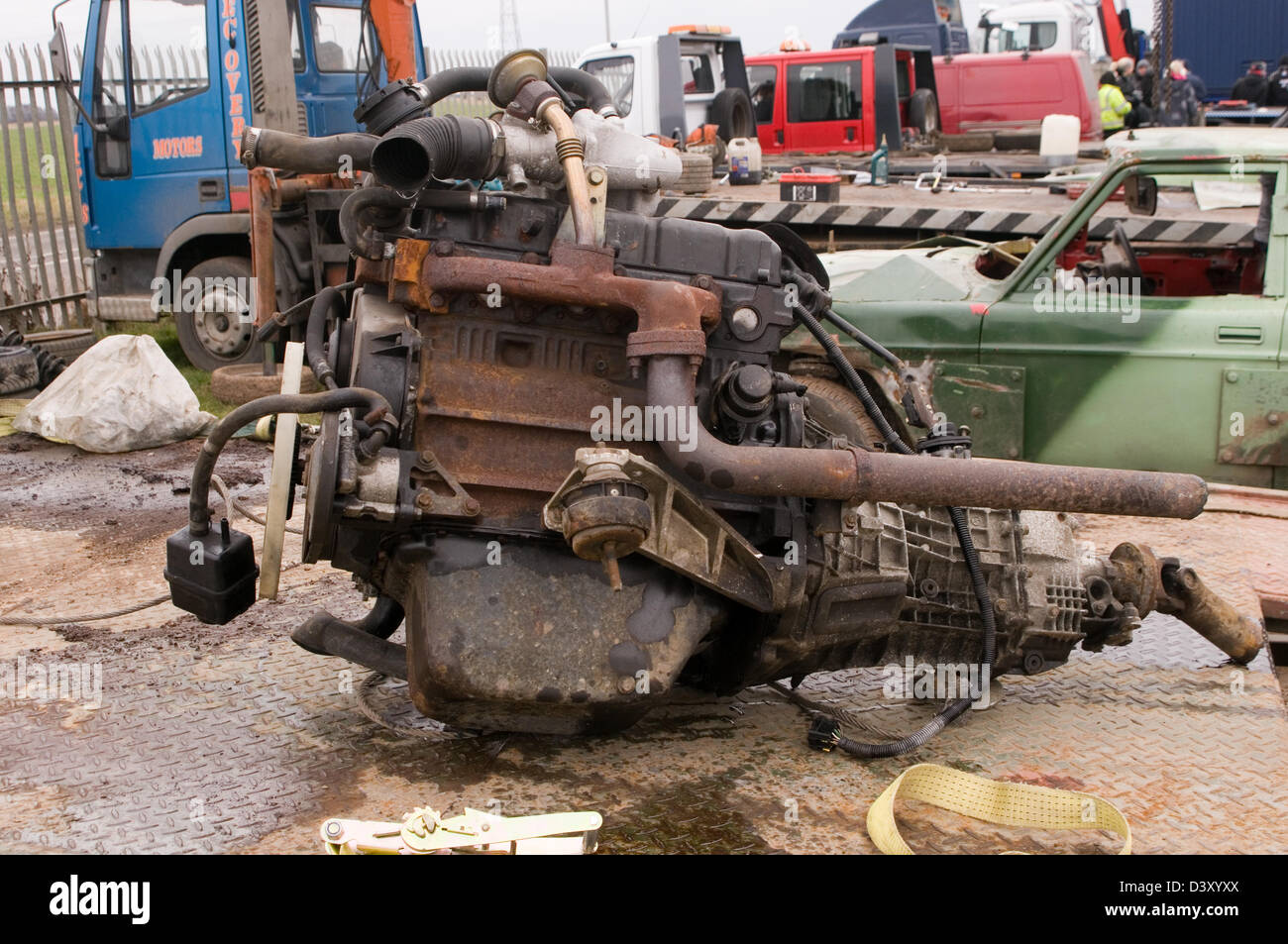 scrap engine car cars engines metal old junk scrapyard scrapyards ...