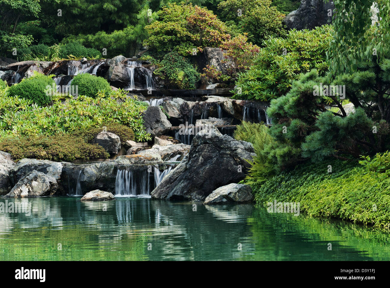 Japanese Waterfalls High Resolution Stock Photography And Images