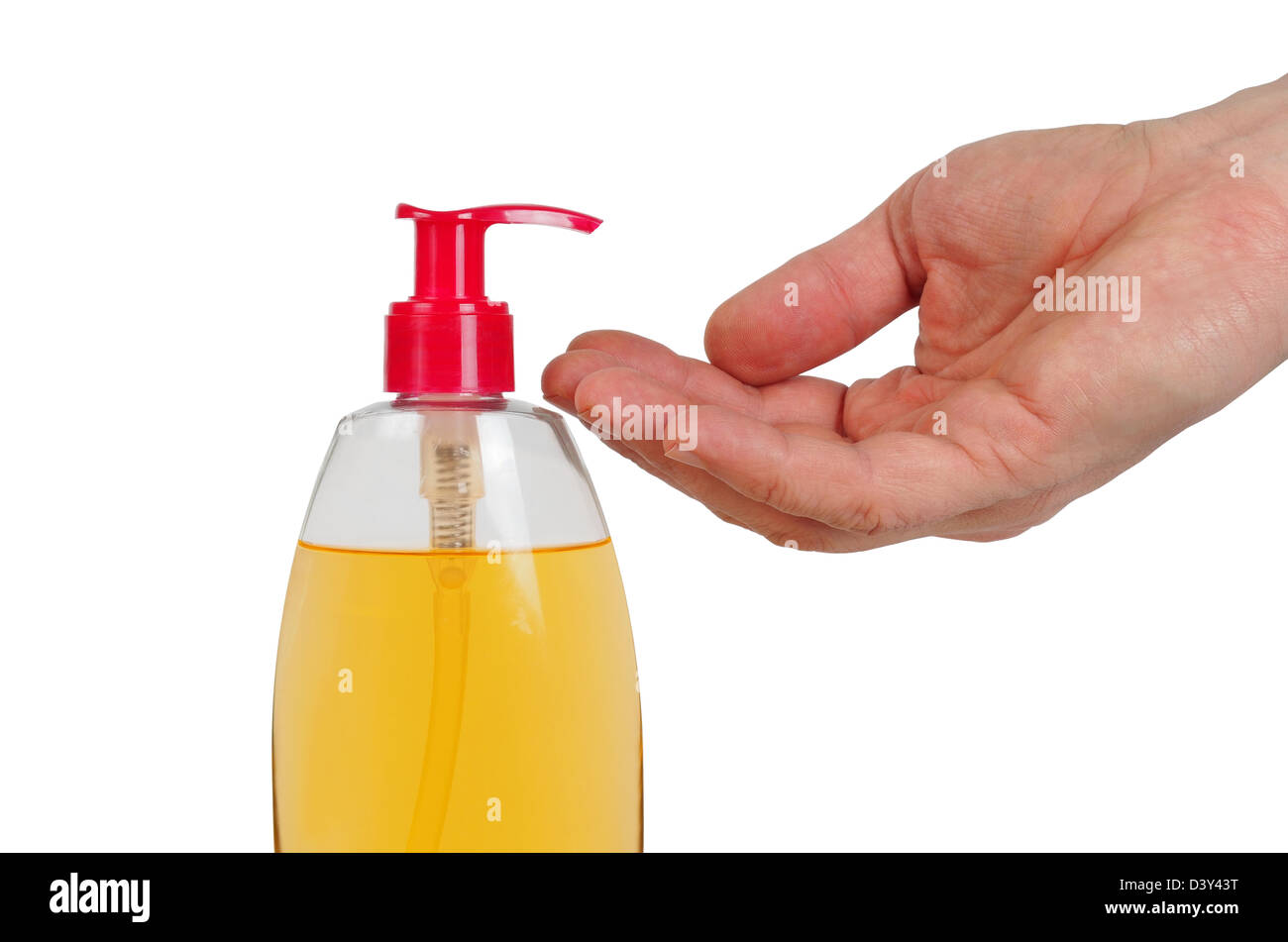 Liquid Soap - Stock Image