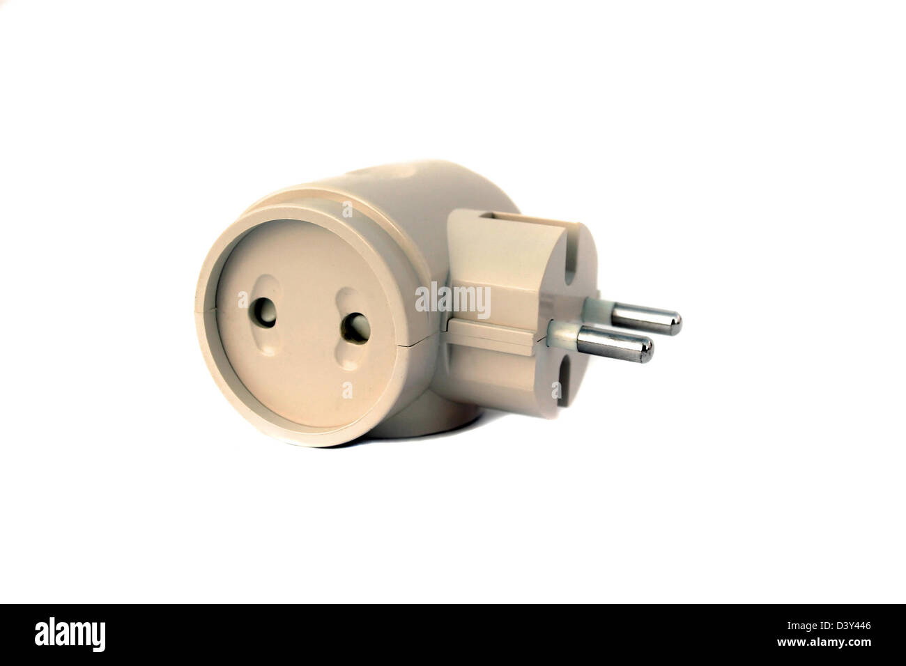 Brown electric t joint isolated Stock Photo: 54071030 - Alamy