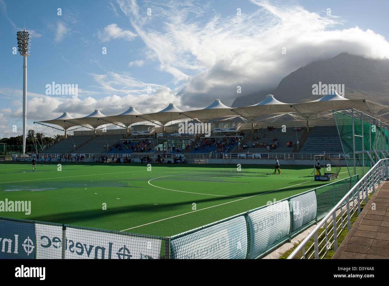 Hartleyvale Hockey Stadium Cape Town South Africa. Home of Western Province Hockey - Stock Image