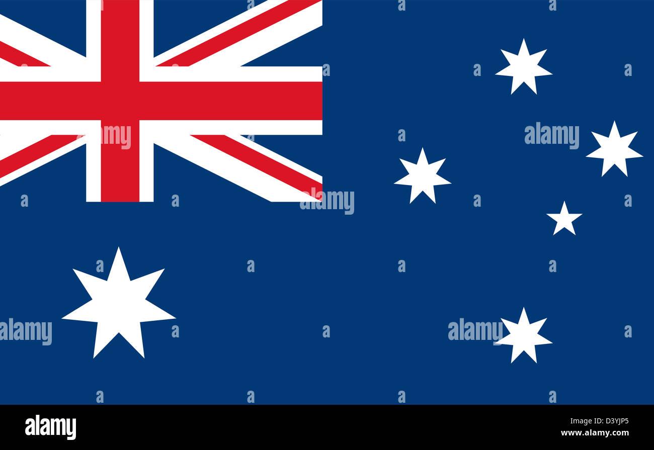 National Flag Of Australia Country World Australia