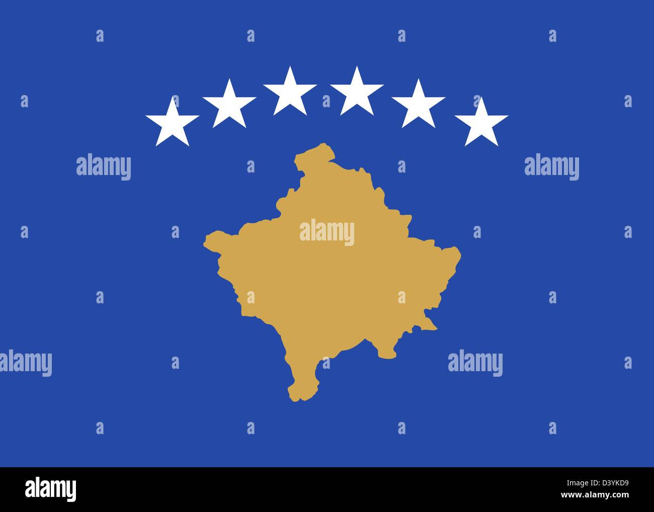 National Flag Of Kosovo Country World Kosovo Background