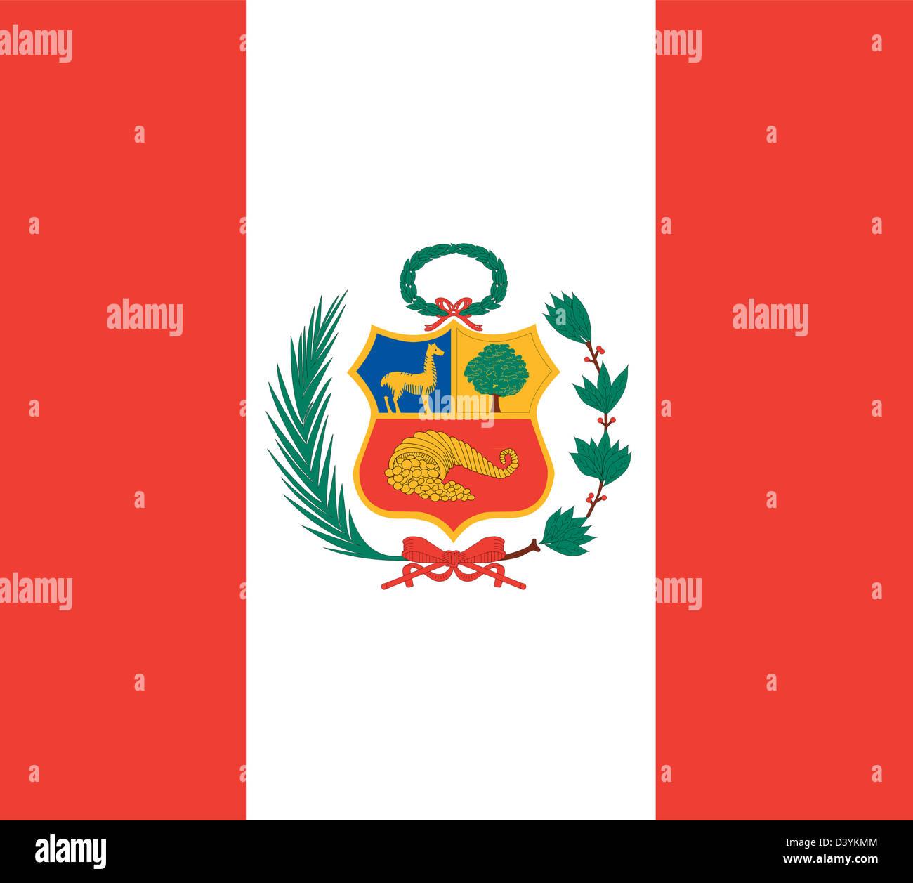 National Flag Of Peru Country World Peru Background Wallpaper Stock Photo Alamy