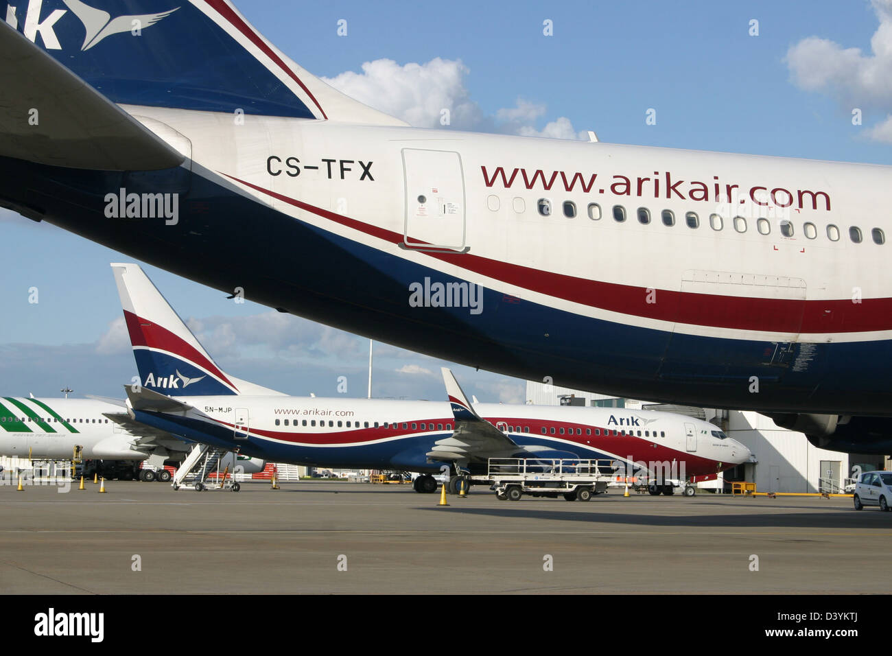ARIK AIRWAYS AIRLINES NIGERIA - Stock Image