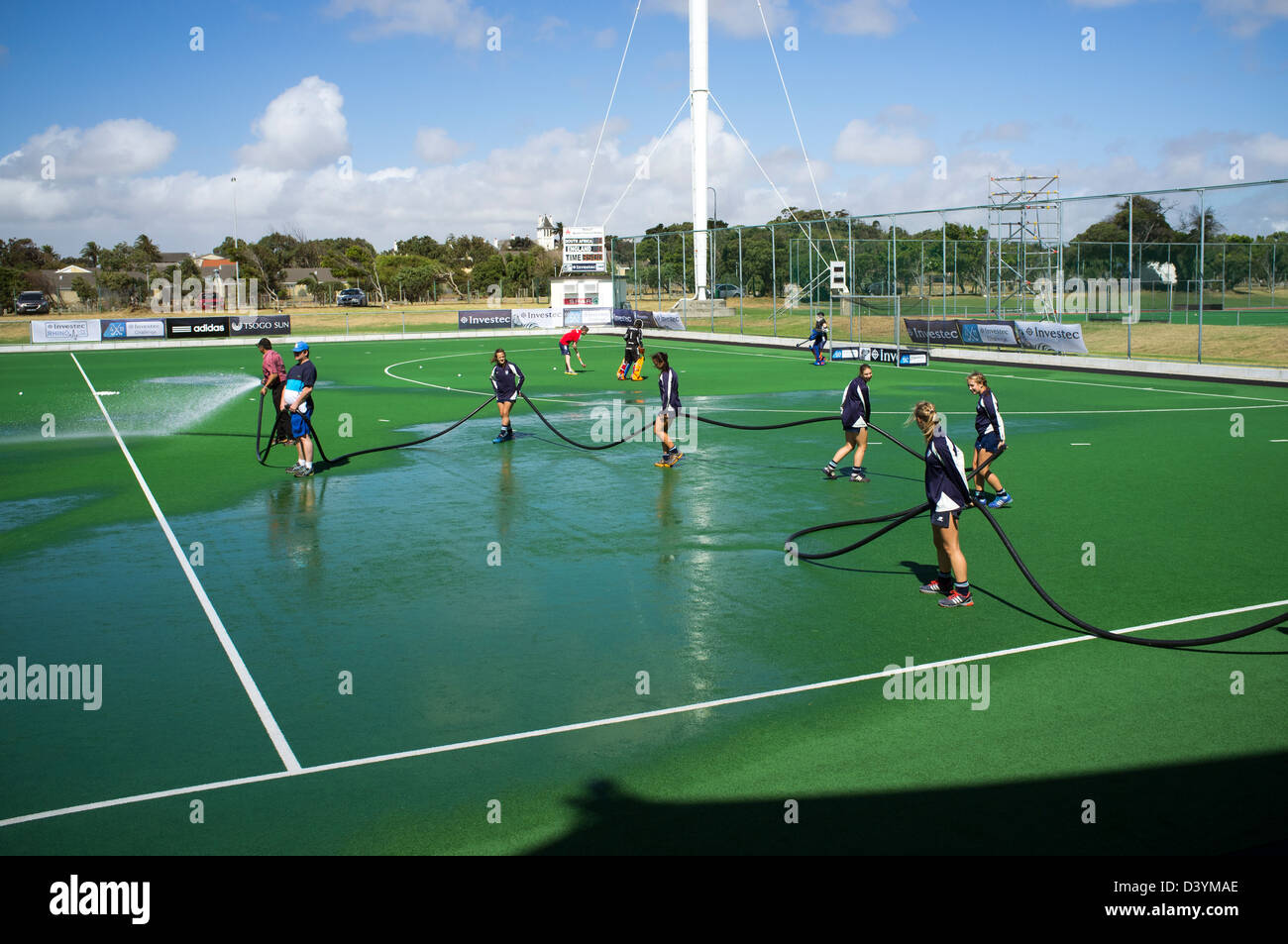 Hockey Ground High Resolution Stock Photography And Images Alamy
