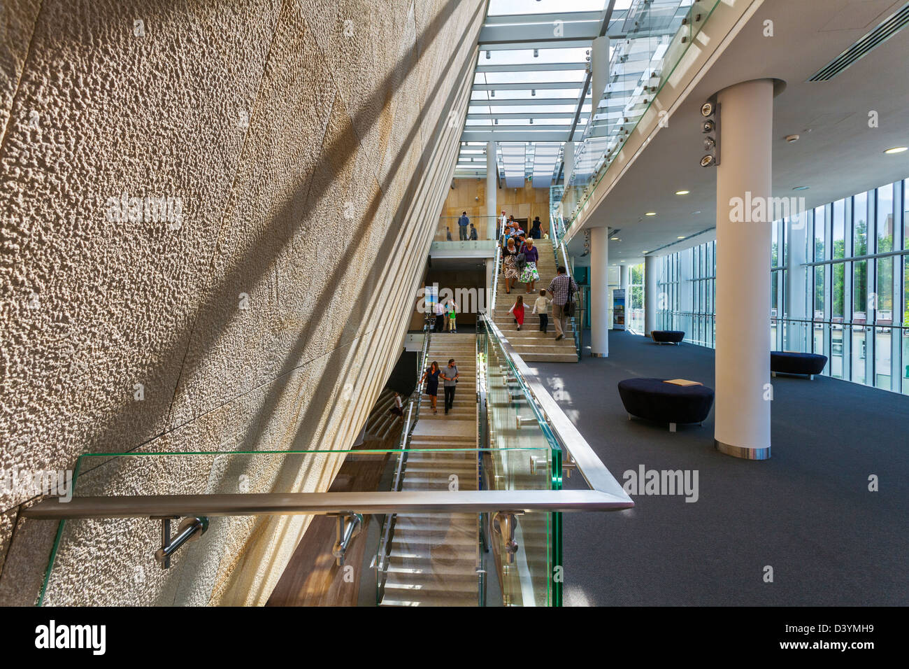 Philharmonic in Olsztyn, Warmia and Mazuria, Poland Stock Photo