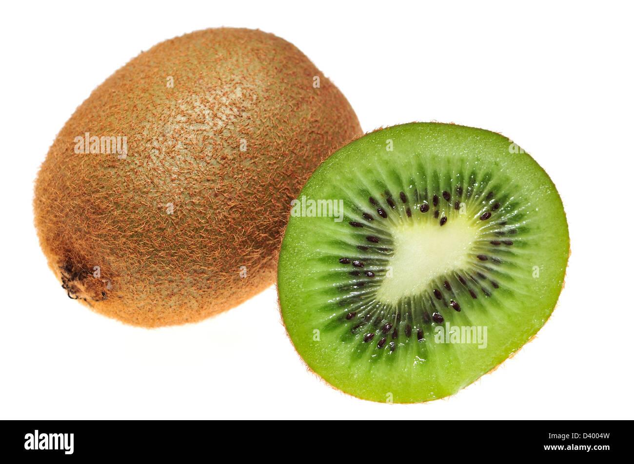 Kiwi fruit / Chinese gooseberry - Stock Image