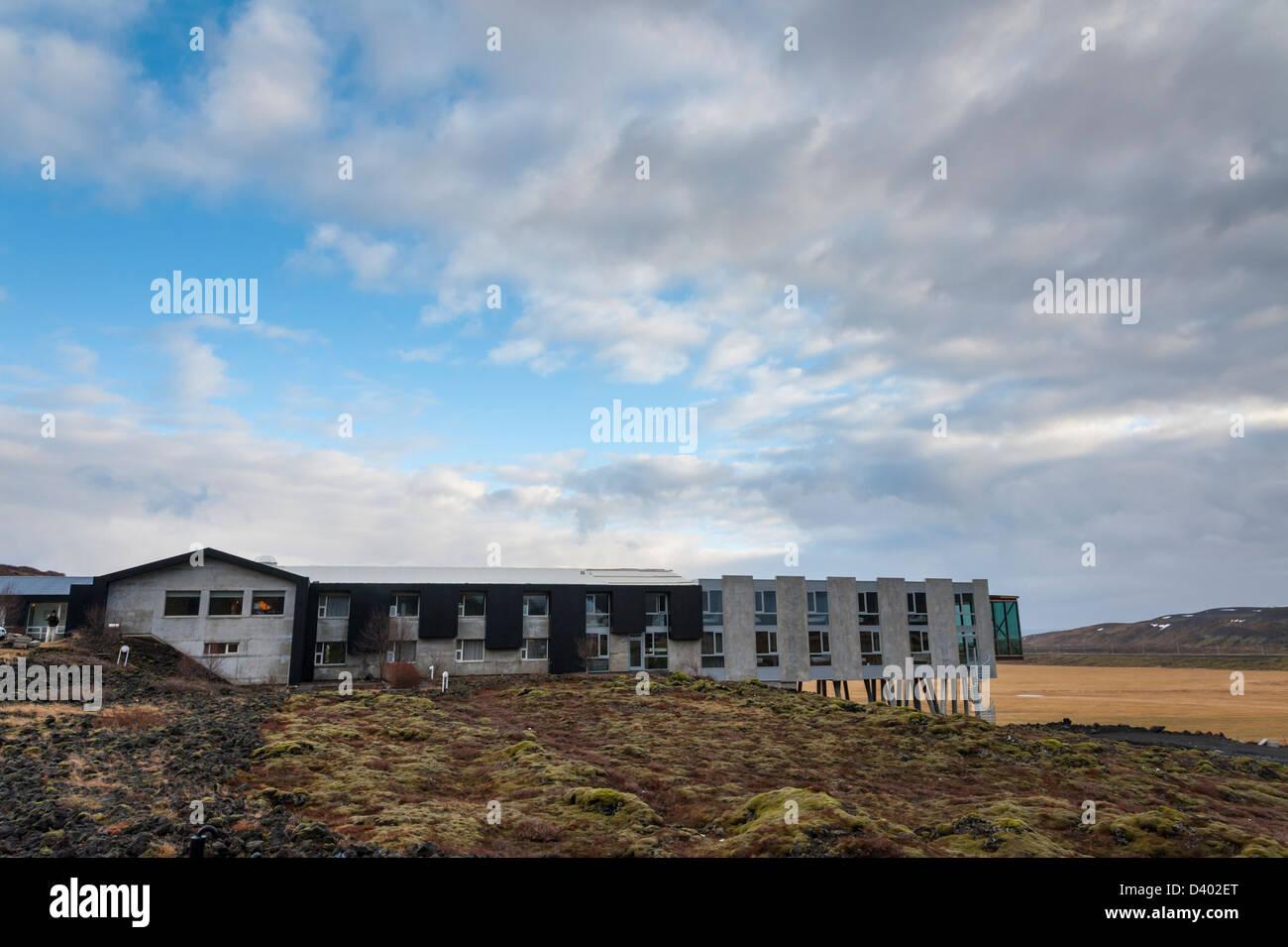 The luxury adventure Hotel Ion Nesjavellir Iceland - Stock Image