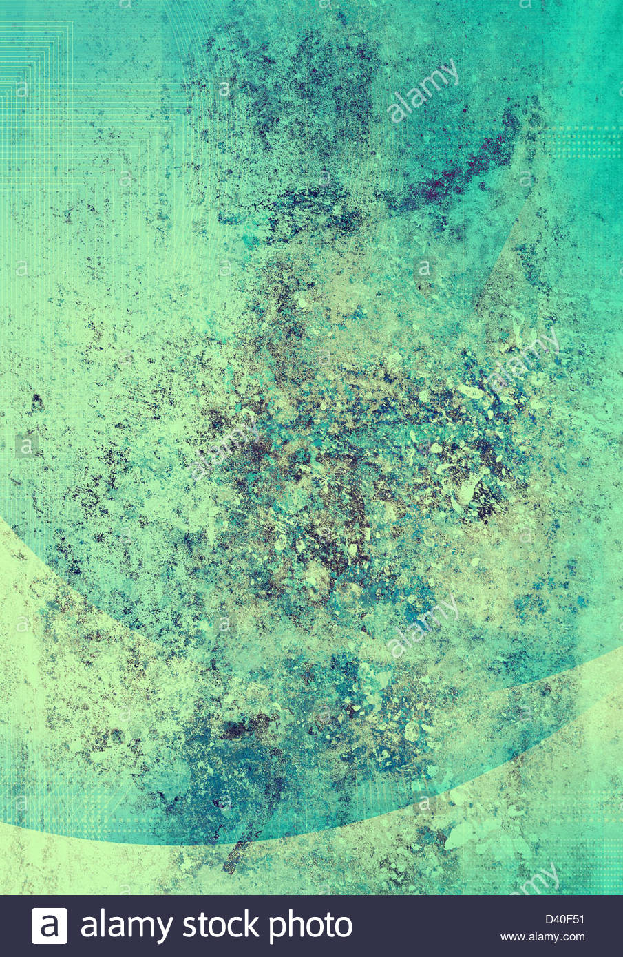 abstract textured art - Stock Image