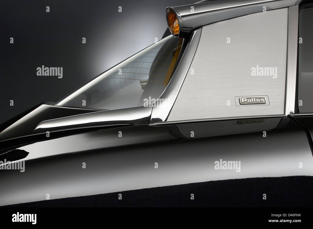Citroen DS Pallas 21 23 Detail - Stock Image